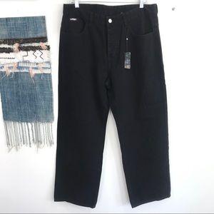 UNIF Jeans - Men's UNIF Casper Black Jeans Button fly Size 34